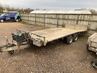 Ifor Williams 3.5 tonne Tilt trailer, with electric winch. Very useful trailer