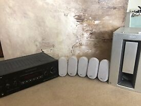 Home Cinema Entertainment system. Sony Digital Amplifier, Sony Speakers (SSMS7 & Subwoofer (SA WMS7)