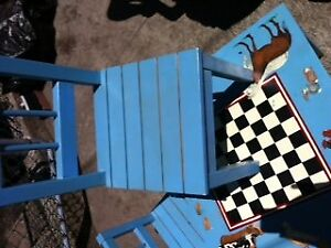 Kids Activity/play Table with 2 Chairs