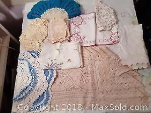 Vintage Linens: Crochet & Lace etc