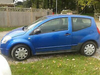 Citroen C2 Hatchback Manual Fabulously economical ideal starter car or city run about