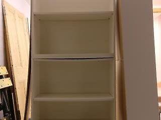 Ikea Billy bookcases, white 203cm x 80cm