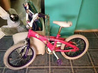 Pink Girl Bike For Sale