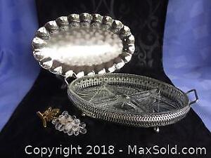 Silver plated and Crystal items