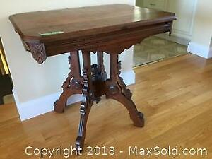 Antique Side Table A