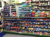 OFF LICENCE AND NEWS AGENT SHOP FOR SALE , PREMIUM £20000 ONO.