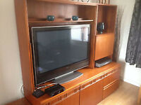 Wall Unit currently used as a TV unit free to good home