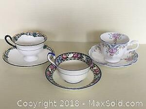 Vintage Teacup and Saucers