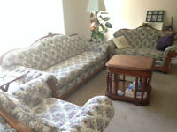 Beautiful couch set