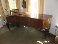 For Sale. Broadwood Grand Piano, 1877, with Rosewood case. Played daily. £420. Tel 01243 784024