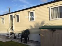 3 bed luxury caravan for hire TRECCO BAY porthcawl