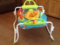 Fisher Price Jumperoo - New model, allows bouncing and movement forwards and back.