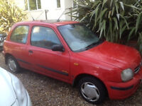 Nissan Micra V Reg- £300- No time wasters please