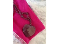 Lola Rose Designer Necklace Cherry Quartz Brand New Unworn! Last chance!