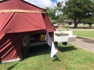 Camper Tent Top Only Ravenswood Charters Towers Area Preview