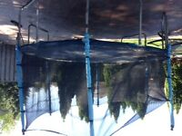 It's a big one- Large trampoline with netting