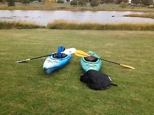 2 kayaks for sale v good condition