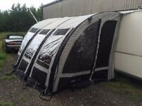 starcamp magnum air 4000m inflatable awning used once
