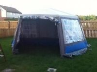 this tent has three good size bedrooms