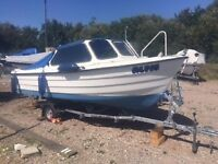 RYDS 480 Fast Fishing/Cruising Boat for upto 6 People