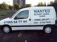 Wanted Citroen Picasso petrols min £200