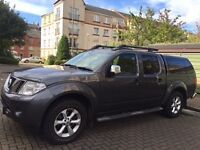 Nissan Navara 2,5dCi, Tekna, 2010, super condition, MOT 03/08/2017, 54120 miles