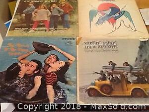 Four Old Record Albums