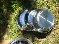 Lot of 33 Aluminum/steel Hubcaps and wheel covers plus one
