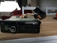 CLARION CAR CD PLAYER/RADIO WITH AUX CONNECTION