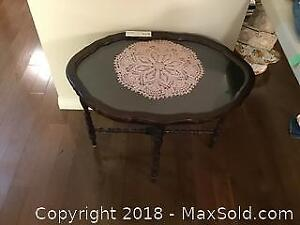 Removable Glass Top Occasional Table A