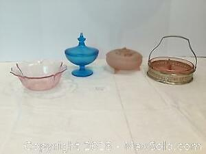 Depression Glass Lot