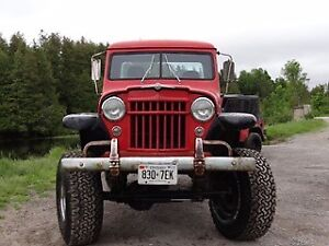 1955 Jeep Willys Pickup Truck