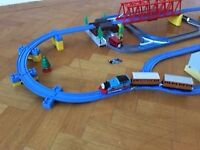 Tomy Thomas Adventure 7408 with extra trains, carriages lots of track Job Lot