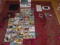 boxed ps3 160 gig etc+ 29 games vgc pwo £90