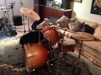 Ludwig drum set  , must sell , space  needed. PRICE  REDUCED