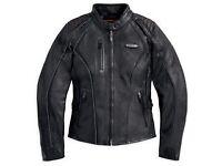 Harley Davidson FXRG Ladies Leather Jacket - Brand new