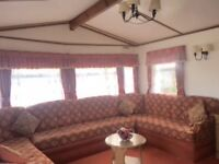 Cheap static caravan, onsite fishing lake , swimming pools, nearby beach, great onsite facilities