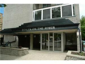 Spacious one bedroom apartment with den in Osborne village