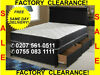 CHEAPEST BEDS & MATTRESSES IN LONDON.FACTORY CLEARANCE DOUBLE BEDS £85- SINGLE BEDS £65- KING £129 -call-0755-083-1111--free Same Day Delivery--factory-stock-clearance-sale----, London
