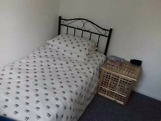 two single bed mattresses and frames for sale v good condition