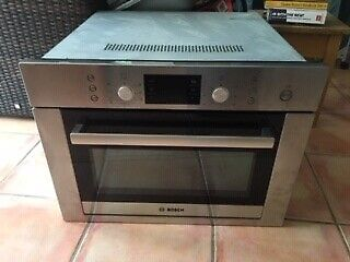 Used Bosch Hbc84e653b Built In Microwave And Combi Oven