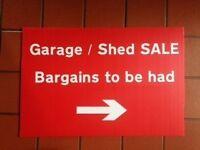 Garage shed sale