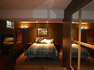 FURNISHED BASEMENT SUITE WITH SPA & TWO BED/SITTING ROOMS SOUTHW