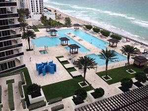 Ocean Front 1 bedroom for rent Beach Club Tower 2 Hallandale