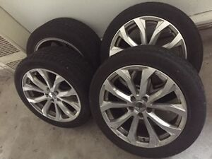 audi A6 new winter tires and rims