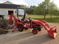 Compact Tractor/Backhoe/Loader For Hire in Selkirk Area