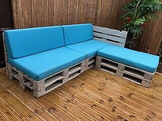 Pallet Garden Furniture with Cushions | in Basingstoke ...