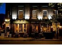 Experienced KP wanted! Well paid, epic team, fantastic gastropub in Clerkenwell