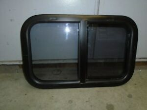 "24"" x 15"" Horizontal Slider RV Window"
