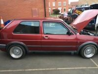 Red VW Golf Mk2 GTI/VR6 Great car, needs work